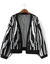 New Ladies Fashion Loose Knit Cardigan Abrigo