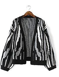 New Ladies Fashion Loose Knit Cardigan Abrigo