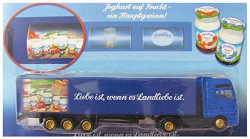 Landliebe Nr. - Jogurt auf Frucht, EIN Hauptgewinn - Man - Sattelzug mit Slotmaschine