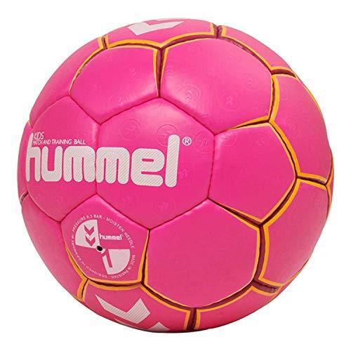 Hummel HMLKIDS-Handball für Kinder, Pink/Gelb, 1