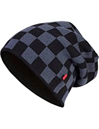 C3 Check Knit Beanie