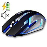 Best Accessory Power Backlit Mechanical Keyboards - UrChoiceLtd® 2016 EVESKY X7 2.4GHz Wireless Rechargeable Mouses Review