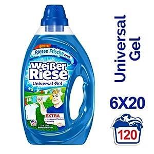 Weißer Riese Universal Gel, lwaschmittel, Waschladungen