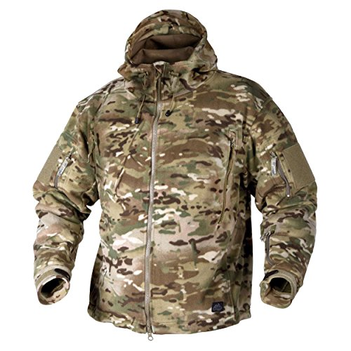 Helikon Tex Patriot Heavy Fleece – Chaqueta Camogrom®, color Camogrom, tamaño extra-large