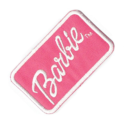 "Price comparison product image Iron on/Sew on/Embroidered Patch ""Biker Barbie"" 7.5cm x 4.7cm"