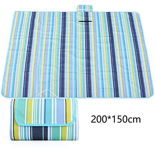 ZXLDP Couvertures de pique-nique Tapis de camping, tapis de couchage à  l abri de l humidité à l abri de l humidité et extérieur à l abri de  l humidité ... 252013df38b