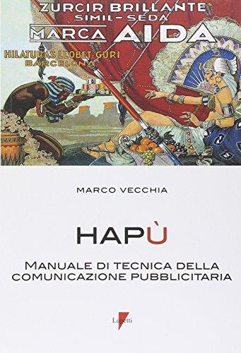 Hap. Manuale di tecnica della comunicazione pubblicitaria