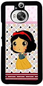 Printvisa Cartoon Pattern Girl Case Cover for HTC One M9+ (2D-HTCM9+-D7732)