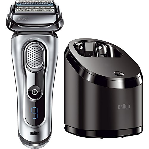 Braun Series 9 9090cc Electric Foil Shaver for Men with Cleaning Center
