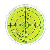 Bulle Niveau de surface ronde inclinomètres haute précision horizontale Niveau à bulle Pièces Instruments d'arpentage