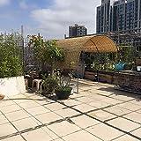 L-KCBTY Tenda di bambù Tapparella in Listelli di Bamboo Fatto di Reed Isolamento Termico/Opaco terrazza,Patio,Schermo Privacy,Parete Divisoria,Decorazione Superiore(Personalizzabile)