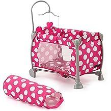 Hauck D90644 - iCoo Starlight Lettino per Bambole Dotty Pink