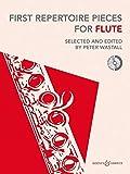 First Repertoire Pieces: überarbeitete Fassung 2012. Flöte und Klavier. Ausgabe mit CD.