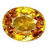 #3: Pukhraj Stone Original Certified Natural Yellow Sapphire Gemstone 10.25 Ratti By S kumar gems jewels