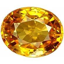 4.25 Ratti Pokhraj Natural Yellow Sapphire Certified