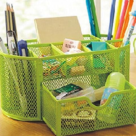Candora ™ Organizer da scrivania, porta penna in rete forniture