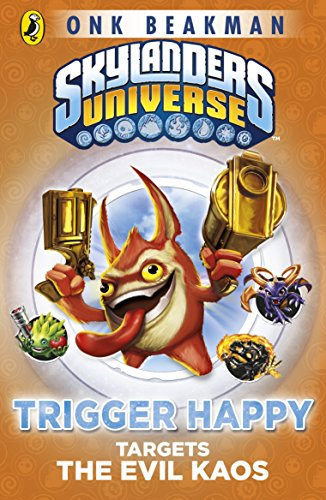 Skylanders Mask Of Power. Trigger Happy Targets The Evil Kaos 8
