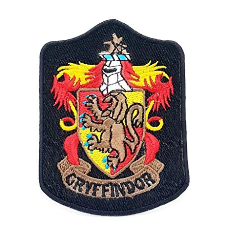 Parche bordado planchar coser Harry Potter Gryffindor