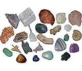 24 Edelsteine und Mineralien zum Befüllen