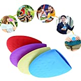 GESCHOK Portable Silicone Collapsible Water Cup, Reusable Lightweight Foldable Anti-bacterial Roll Up