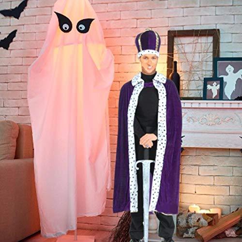 Wood.L Halloween Kostüm Mantel Cosplay Erwachsenen König Mantel Erwachsenen Mantel King Cape Gorgeous