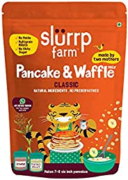 Slurrp Farm American Classic Vanilla Pancake Mix, No Wheat Flour, Refined Flour or Starch, Made with Millets G