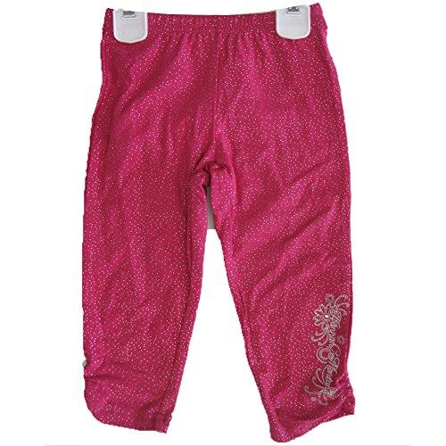 Kleine M?dchen Pink Sparkle Hannah Montana bestickt Capri Hose 4 (Capri Hannah Montana)