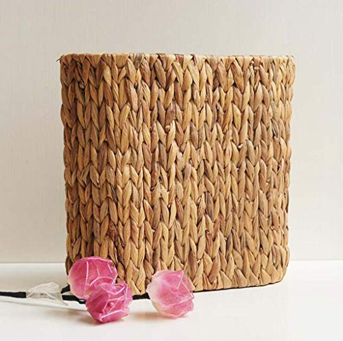 DDHZTA Spielzeug-Speicher Schaufel Grünen Blumentopf Set Amerikanischen Land Stroh Gewebte Kleidung Aufbewahrungsbox (Amerikanische Mädchen-kleidung-speicher)