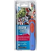 Oral-B Stages Power - Brosse à Dents Électrique pour Enfant - Marvel Avengers