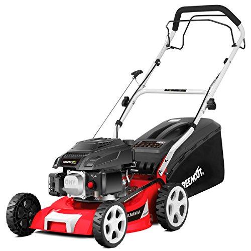 Greencut GLM690SX Cortacésped Autopropulsado, 3600 W, Rojo, 40 cm