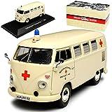 Atlas Volkwagen T1 Beige DRK Krankenwagen Samba Bully Bus 1950-1967 1/43 Modell Auto