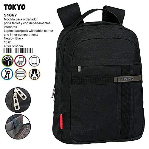 Montichelvo Montichelvo Backpack Brown TV Pr Tokyo Schulranzen, 44 cm, Mehrfarbig (Multicolour) - Tv-novedades