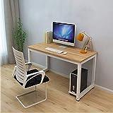 Dripex Officetisch PC-Tisch Arbeitstisch Bürotisch Schreibtisch 115x60x74 cm Computertisch Büro Tisch (Ulme Farbe)