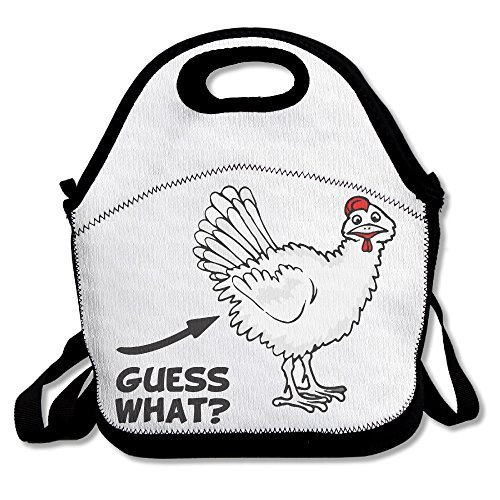 Lygfdsss Guess What Huhn Butt Funny Lunchtasche Lunch -