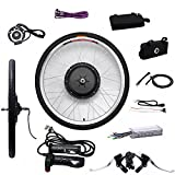 "OBLLER 36V/48V E-Bike Motor Hub Electric Bicycle Conversion Kits 26"" Front/Rear Motor (36V 250W Front)"