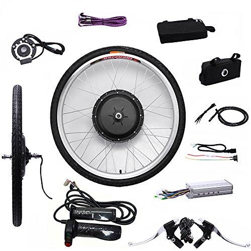 OBLLER 36V/48V E-Bike Motor Hub Electric Bicycle Conversion Kits 26