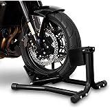 ConStands Béquille cale de roue moto avant Easy Black Yamaha XVS 1300 A Midnight Star