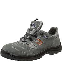 Allen Cooper AC-1459 Safety Shoe, Double Density DIP-PU Sole, Grey, Size 8