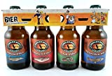 Angler Bier im witzigen Bierschaum Motiv 4er Träger