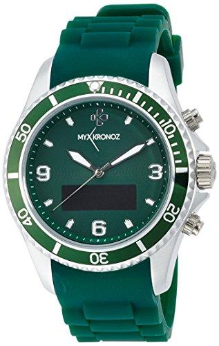 MyKronoz ZeClock OLED 65g Green - smartwatches (Round