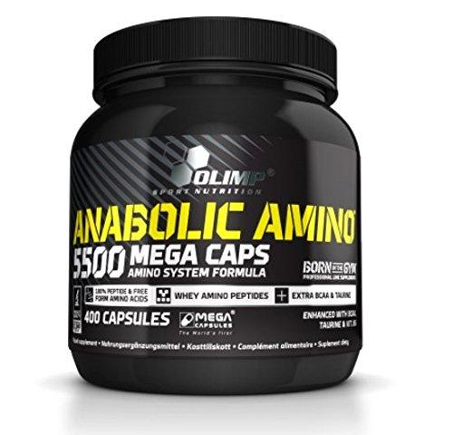 Olimp Anabolic Amino 5500 Mega Caps, 400 Kapseln (Tabletten Amino 2222)