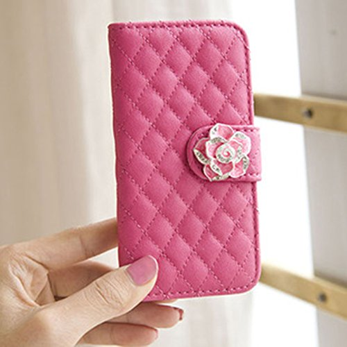 huayang-fashion-camellia-decorated-flip-wallet-stand-case-cover-for-iphone-5-5s-with-card-slotpeach