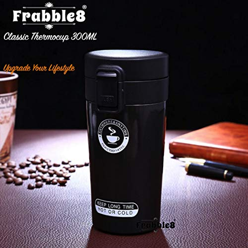 Frabble8 Double Wall 300ML Vacuum Insulated Travel Stainless Steel Coffee/Tea...