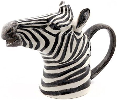 Quail grande, Ceramics-Brocca grande, Quail motivo zebrato 14e172