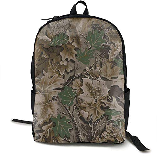 TRFashion Realtree Camo Wallpapers Travel High School Backpacks Lightweight Bag College Girls Womens Rucksack Schultasche -