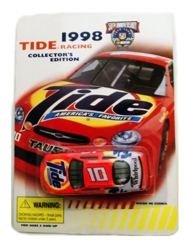 1998-tide-racing-collectors-edition-10-ricky-rudd-ford-taurus-1-64-scale-die-cast-stock-car-by-racin