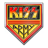 Rock Off Kiss - Distintivo con bandierine dell