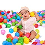 La Cabina Balles Coloré en Plastique Souple Balle de Jouet Wave Balle Boules...