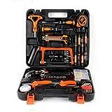 Libina 82 Strumenti Set Hand Tools Kit Multifuntional DIY Home Office Hardware Riparazione Strumenti Di Precisione Con Una Scatola Di Stoccaggio Portatile/Pratico Caso, Grande Come Regalo