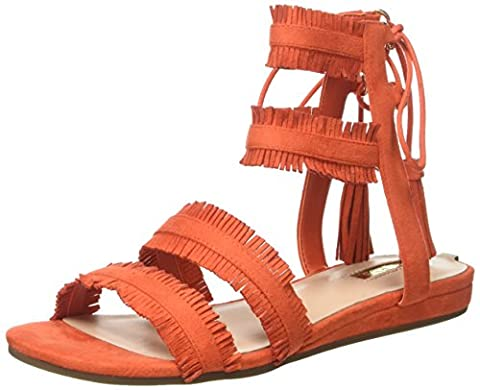 Guess Jalisa, Tongs Femme, Arancione, 38 EU